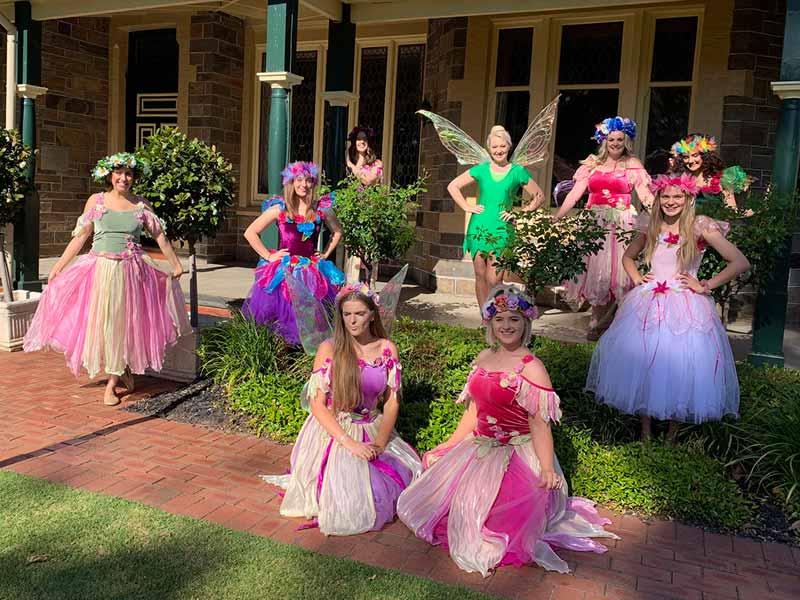 Fairy Bay birthday party fairies