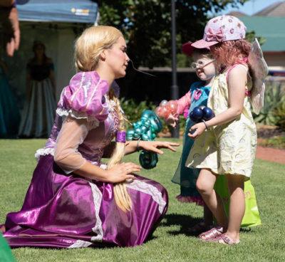 Fairy Bay Characters - Rapunzel