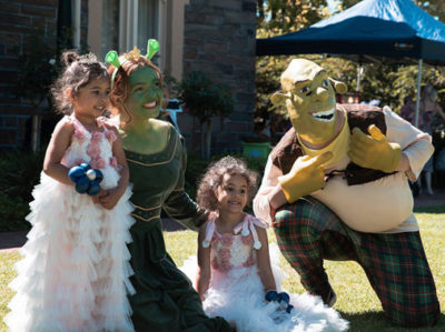 Fairy Bay Characters - Shrek and Fiona